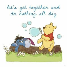 Winnie The Pooh and Eeyore Winne The Pooh, Cute Winnie The Pooh, Winnie The Pooh Quotes, Winnie The Pooh Friends, Eeyore Pictures, Winnie The Pooh Pictures, Short Friendship Quotes, Funny Friendship, Girl Friendship