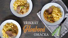 Třikrát houbová omáčka - Kuchařka pro dceru What To Cook, Chana Masala, Stuffed Mushrooms, Cooking, Ethnic Recipes, Food, Daughter, Stuff Mushrooms, Kitchen