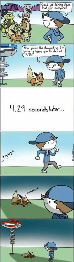 Sometimes it's less than seconds