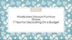 Check out these easy and budget friendly tips!