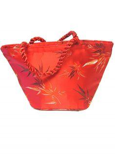 Red Purse Oriental Silk Handbag by sweetie2sweetie on Etsy