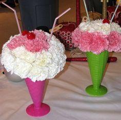 flower sundaes