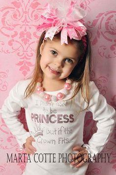 Just love this rhinestone girls t-shirt!