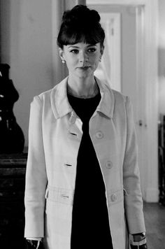 Carey Mulligan in An Education. I saw her in this scene and was in awe at her beauty. She looked absolutely stunning.
