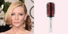 Cate Blanchett at Golden Globes – Side-Swept Bob