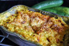 Lasagne poulet courgette curry
