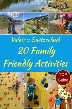 Valais Switzerland :: Best 20 family friendly things to do with kids. Make the Swiss Alps with Kids your best holiday ever and enjoy a list of 20 things to do in Valais. Travel With Kids, Family Travel, Stuff To Do, Things To Do, Europe Travel Tips, Travel Deals, Travel Packing, Travel Guides, Travel Destinations