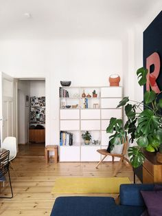 Modulares System: Designregal Und Wohnzimmergestaltung In Berlin