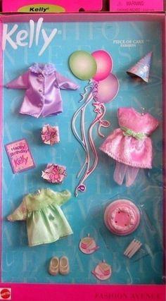 BARBIE - KELLY FASHION AVENUE  ' PIECE OF CAKE FASHION ' *MIB* #Mattel #Clothing