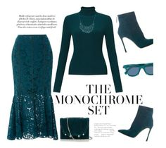 Polyvore Contest :One Color, Head to Toe Teal by tailormadelady on Polyvore featuring polyvore, fashion, style, Miss Selfridge, Lanvin, Diane Von Furstenberg, Marissa Webb, Gianvito Rossi, Paul Andrew, Marco de Vincenzo, Lucky Brand, Fendi and clothing