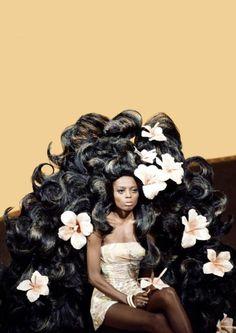 Diana Ross (Bob Mackie´s wig).