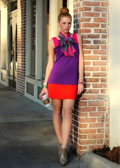 Perfect color blocking - Alice + Olivia