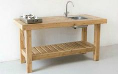 Reclaimed Wood Kitchen Furniture and Storage from Katrin Arens