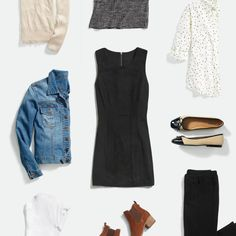 I don't wear dresses but this is exactly my style.  Simple, chic, clean lines  12-wardrobe-essentials-for-your-lifestyle