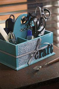 Creative Company   Scrap That Too: Craft caddy Creative Company, Craft Projects, Scrapbook, Crafts, Manualidades, Handmade Crafts, Arts And Crafts, Scrapbooks, Craft