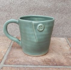 hand built slab pottery mug - Google Search