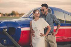 Retro Air Field Engagement Shoot   The Harris Company on @loveincmag via @aislesociety
