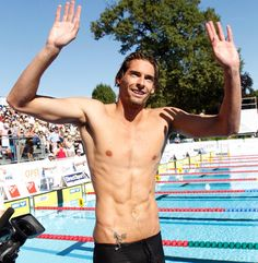 French swimmer Camille Lacourt is a gold medal hottie!