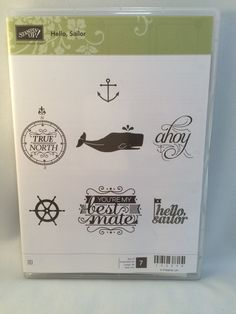 Hello Sailor by Stampin Up by catscardsandcoffee on Etsy