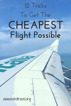 12 Ways To Get The Cheapest Flight Possible So often I am able to travel interna… – cheap flights Cheap Places To Travel, Ways To Travel, Cheap Travel, Budget Travel, Travel Tours, Travel Deals, Travel Destinations, Travel Hacks, Hiking Tours