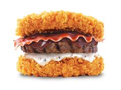 KFC's Double Down King (South Korea) | The 33 Craziest New Fast Foods Of 2014  This needs to be brought here! LOL!