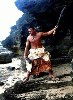 Tongan Warrior: I imagine they wore something more pliable
