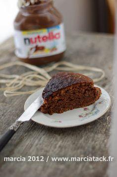 Gâteau au nutella, sans oeuf - Recette - Marcia Tack