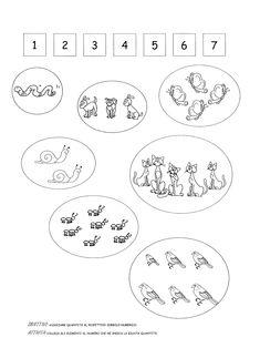 Blog scuola, Schede didattiche scuola dell'infanzia, La maestra Linda, Schede didattiche da scaricare, Activities For 5 Year Olds, Kindergarten Math, Blog, Worksheets, Diagram, Coding, Education, Kids Learning Activities, Alphabet