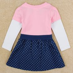 FREE SHIPPING  2014 hot sale baby girls dresses printed lovely peppa pig   baby girls cotton dress H4848