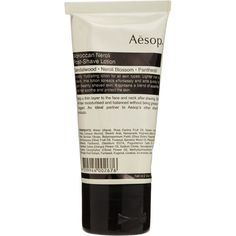 Aesop Moroccan Neroli Post-Shave Lotion (330 HRK) ❤ liked on Polyvore featuring beauty products, bath & body products, body moisturizers, beauty, fillers, makeup, cosmetics, aesop and body moisturizer