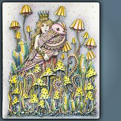 Dagdrömmer - Princess with bird pic taken with daylight ;-)…