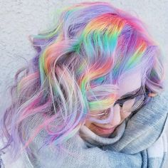 "637 Likes, 12 Comments - Sally Beauty (@sallybeauty) on Instagram: ""Who said winter was a season of gloom? This iridescent color from @hairbymisskellyo says otherwise!…"""
