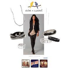 Chloe Isabel, Studded Leather, Crystals, My Style, Polyvore, Fashion, Moda, Fashion Styles, Fashion Illustrations