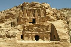 Perched on the edge of the Arabian Desert, Petra was the capital of the Nabataean kingdom of King Aretas IV (9 B.C. to A.D. 40).  Petra is famous for its many stone structures such as a 138-foot-tall (42-meter-tall) temple carved with classical facades into rose-colored rock. The ancient city also included tunnels, water chambers, and an amphitheater, which held 4,000 people.  -National Geographic