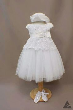 Girls christening dress