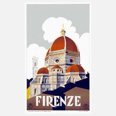 Vintage travel posters (from Fab.com)