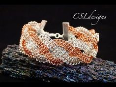 ▶ Braided wire macrame bracelet - YouTube