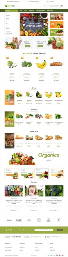 Organic is the beautiful and fully responsive #Magento #theme for stunning #grocery #shopping #mart eCommerce website with 6 unique homepage layouts download now➩ https://themeforest.net/item/organica-organic-beauty-natural-cosmetics-food-farn-and-eco-magento-theme/18659746?ref=Datasata