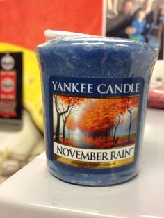NEED!! #novemberrain #yankeecandle #gunsnroses #turnthepage