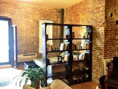 Pair of 36 bookshelves / Rustic Bookcases by ModernRust on Etsy