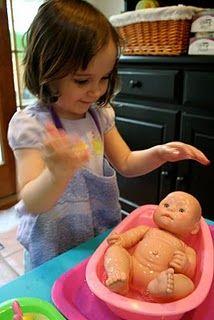 Washing Baby Dolls