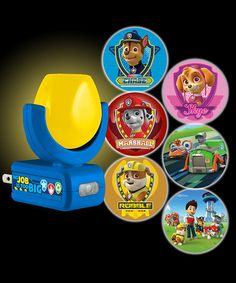 This Paw Patrol Six-Image Projectables® LED Night-Light by Jasco Products Company is perfect! Paw Patrol Bedding, Paw Patrol Bedroom, Kids Bedding Sets, Paw Patrol Party, Light Project, Led Night Light, Wall Outlets, Playroom, Kids Room