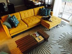 Eliot Sectional - Photo by Adrienne A.