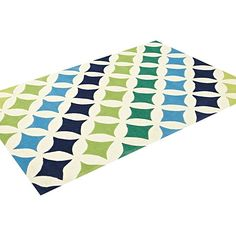 Bright Kids Green Kids Rug