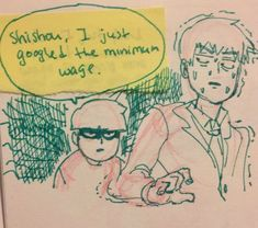 : Sad Barber of The Good Times Cruelty. Anime In, Mob Physco 100, Mob Psycho 100 Anime, One Punch Man, Vocaloid, Memes, The 100, Haha, Fan Art