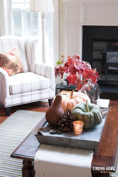 Simple Fall Decorati