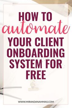 How to Automate Your Client Onboarding System for Free! From booking discovery calls to receiving in Online Entrepreneur, Business Entrepreneur, Business Marketing, Online Marketing, Digital Marketing, Content Marketing, Marketing Process, Marketing Ideas, Affiliate Marketing