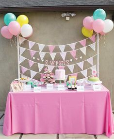 HOW TO THROW A POLKA DOT PARTY First, you need ice cream, of course! After that, it's anything goes in circles, tiny dots, sprinkles, big polka dots and lots of roundshapesand color! You can tailor your color scheme to either brights for a gender neutral … | Ice Cream Birthday Party