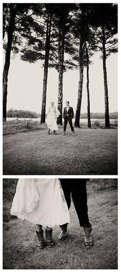 L.L.Bean Boot Wedding.