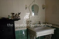 Unusual and traditional bathroom - part of an edwardian family home.